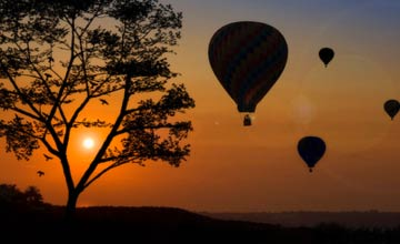 Hot Air Balloon Ride Toronto