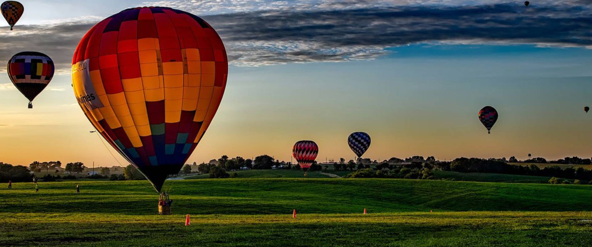 Uptuit Balloons' Hot Air Balloon Fleet
